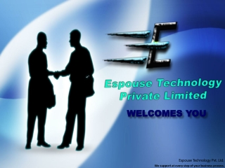 Espouse T echnology Private Limited