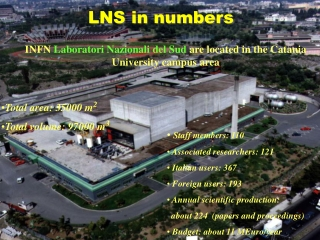 LNS in numbers