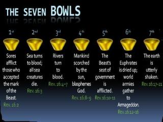 Seven Trumpets Seven Bowls