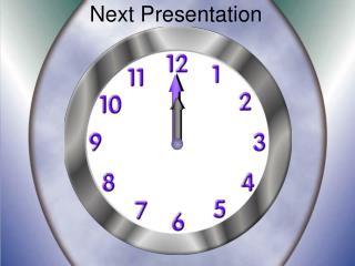 Next Presentation