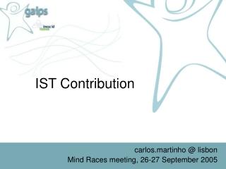 IST Contribution