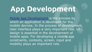 App Development | Services | Cost | Platforms