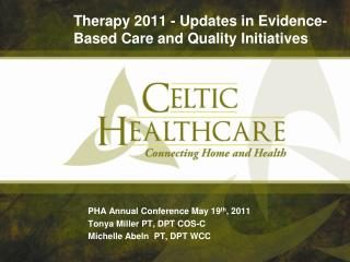 Therapy 2011 - Updates in Evidence-Based Care and Quality Initiatives