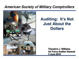 Auditing:  It's Not Just About the Dollars
