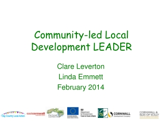Community-led Local Development LEADER