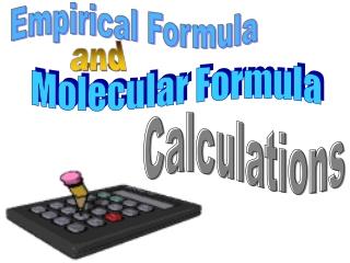 Simplest formula calculations