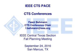 2016 CTS Conference