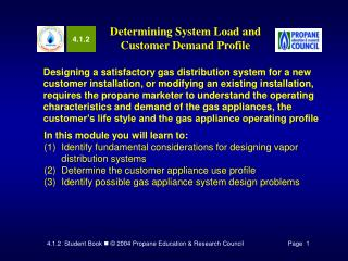 Determining System Load and Customer Demand Profile