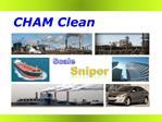 CHAM Clean kimia pembersih berbagai mesin