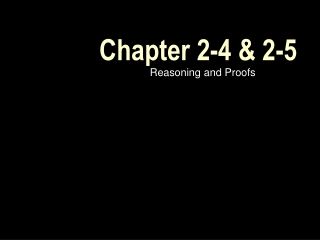 Chapter 2-4 & 2-5