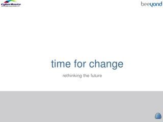 time for change rethinking the future