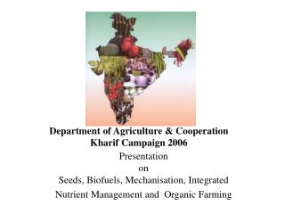 Department of Agriculture & Cooperation Kharif Campaign 2006