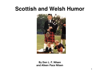 Scottish and Welsh Humor