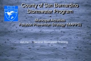 Volume I – General Stormwater Training
