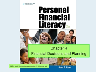 Chapter 4 Financial Decisions and Planning
