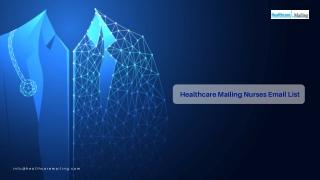 Healthcare Mailing Nurses Email List