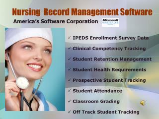 Nursing  Record Management Software