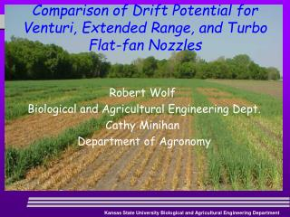 Comparison of Drift Potential for Venturi, Extended Range, and Turbo Flat-fan Nozzles