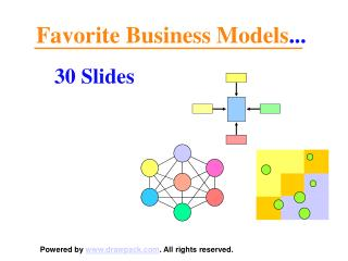 30 Benchmark business models for business presentations