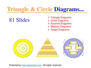 triangle & circle diagrams for powerpoint presentations