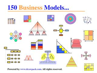 Basic Business diagrams and models for powerpoint