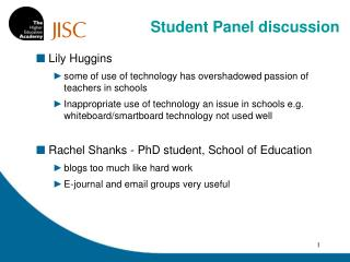 Lily Huggins some of use of technology has overshadowed passion of teachers in schools