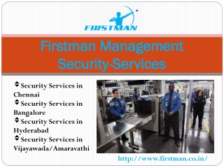 Firstman Management Security-Services