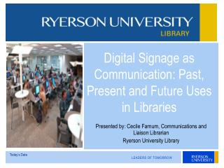 Digital Signage as Communication: Past
