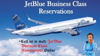 JetBlue Business class Reservations Help Desk