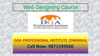 Best Web Designing Institute in Delhi-110059