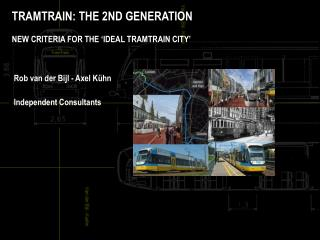 TRAMTRAIN: THE 2ND GENERATION