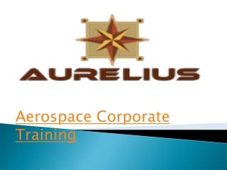 Aerospace corporate training