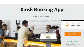 Hotel Taxi Booking Kiosk app for Travelers