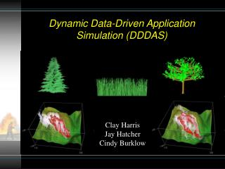 Dynamic Data-Driven Application Simulation (DDDAS)