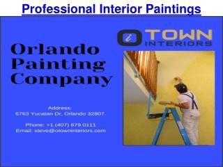 Professional Interior Paintings