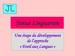 Janua Linguarum