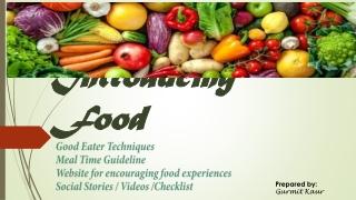 Introducing Food