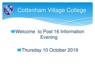 Cottenham Village College