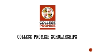 College Promise Scholarships