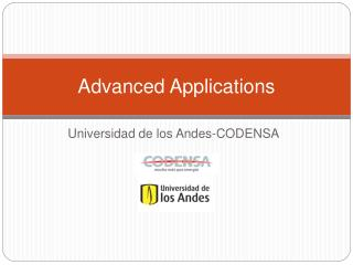 Advanced Applications
