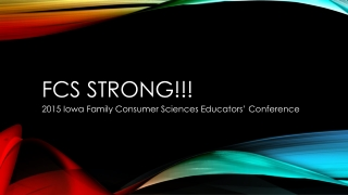 FCS Strong!!!