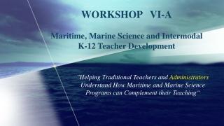 Captain Dave Bell Maritime Academy Charter School Director Maritime Studies Philadelphia, PA
