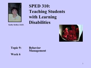 SPED 310: Teaching Students with Learning Disabilities