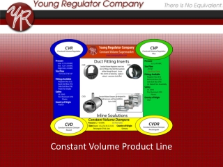 Constant Volume Product Line