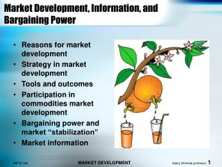Market Development, Information, and Bargaining Power