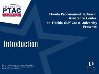 Florida Procurement Technical Assistance Center