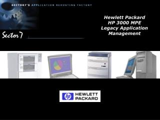 Hewlett Packard HP 3000 MPE Legacy Application Management