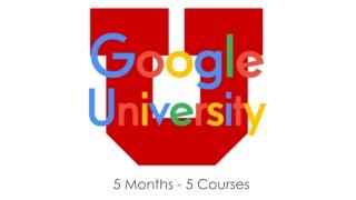5 Months - 5 Courses
