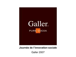 Journ e de l innovation sociale