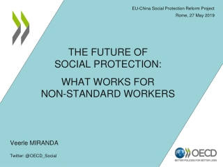 EU-China Social Protection Reform Project Rome, 27 May 2019